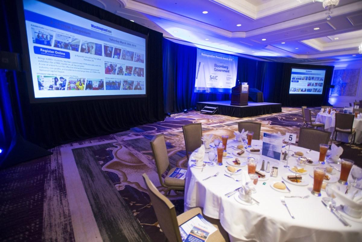 2018 WashingtonExec Pinnacle Awards - Event at the Ritz Carlton in Tysons Corner, VA
