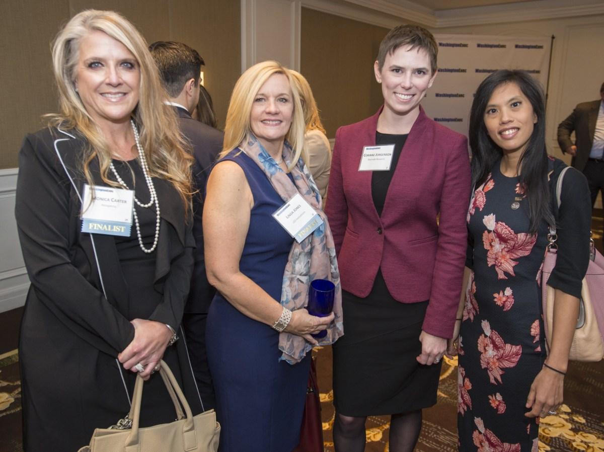 2018 WashingtonExec Pinnacle Awards Networking - Event at the Ritz Carlton in Tysons Corner, VA