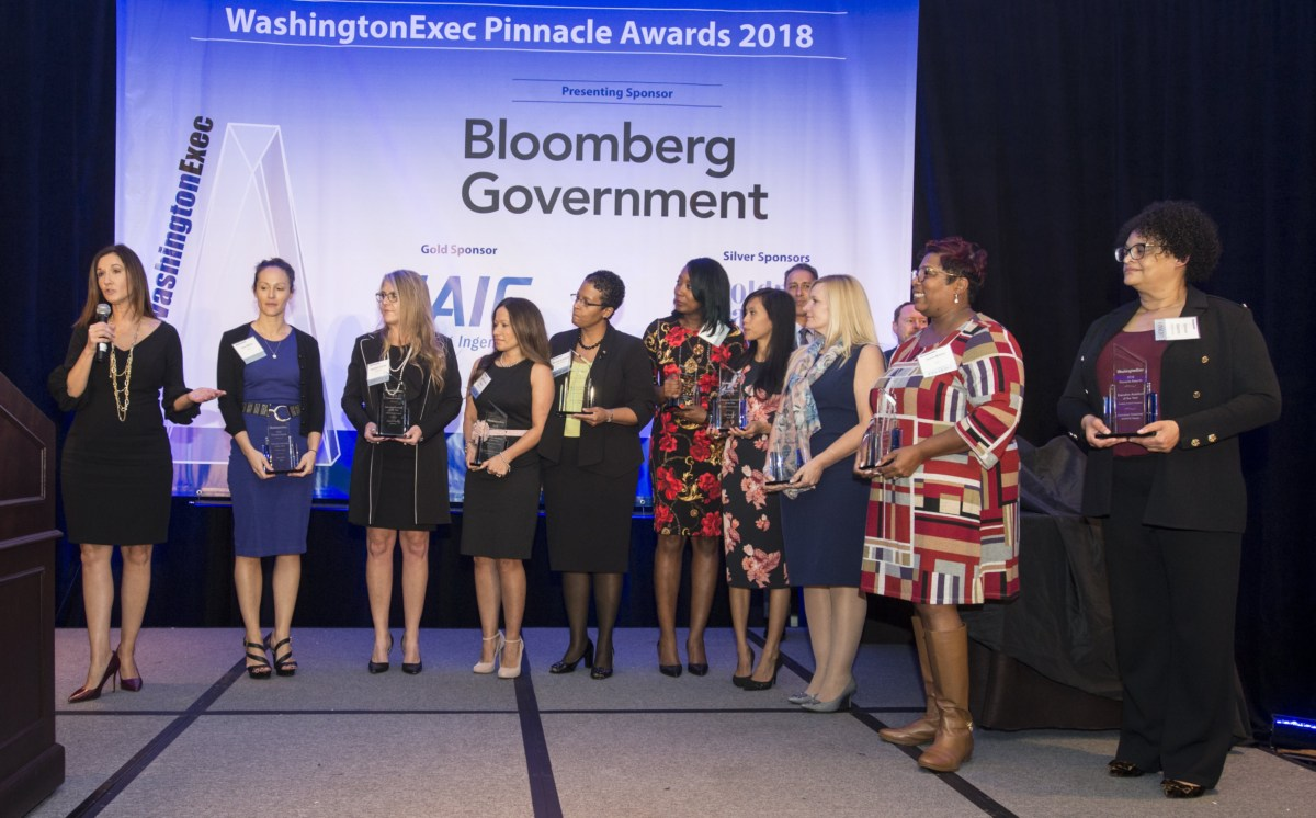 2018 WashingtonExec Pinnacle Awards Award Ceremony - Event at the Ritz Carlton in Tysons Corner, VA