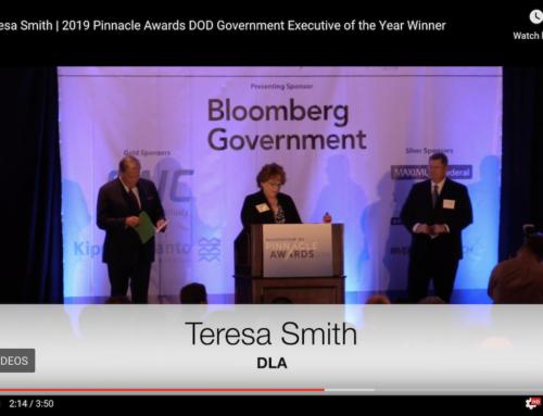 Teresa Smith, Defense Logistics Agency   2019 Pinnacle Awards DOD Government Executive of the Year