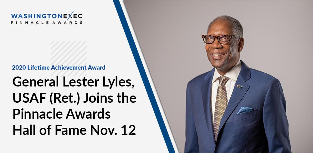 General Lester Lyles, USAF (Ret.) - 2020 Lifetime Achievement Award Recipient